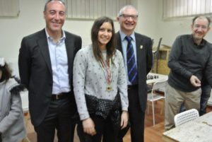 Sofia Rossi, migliore terza scacchiera