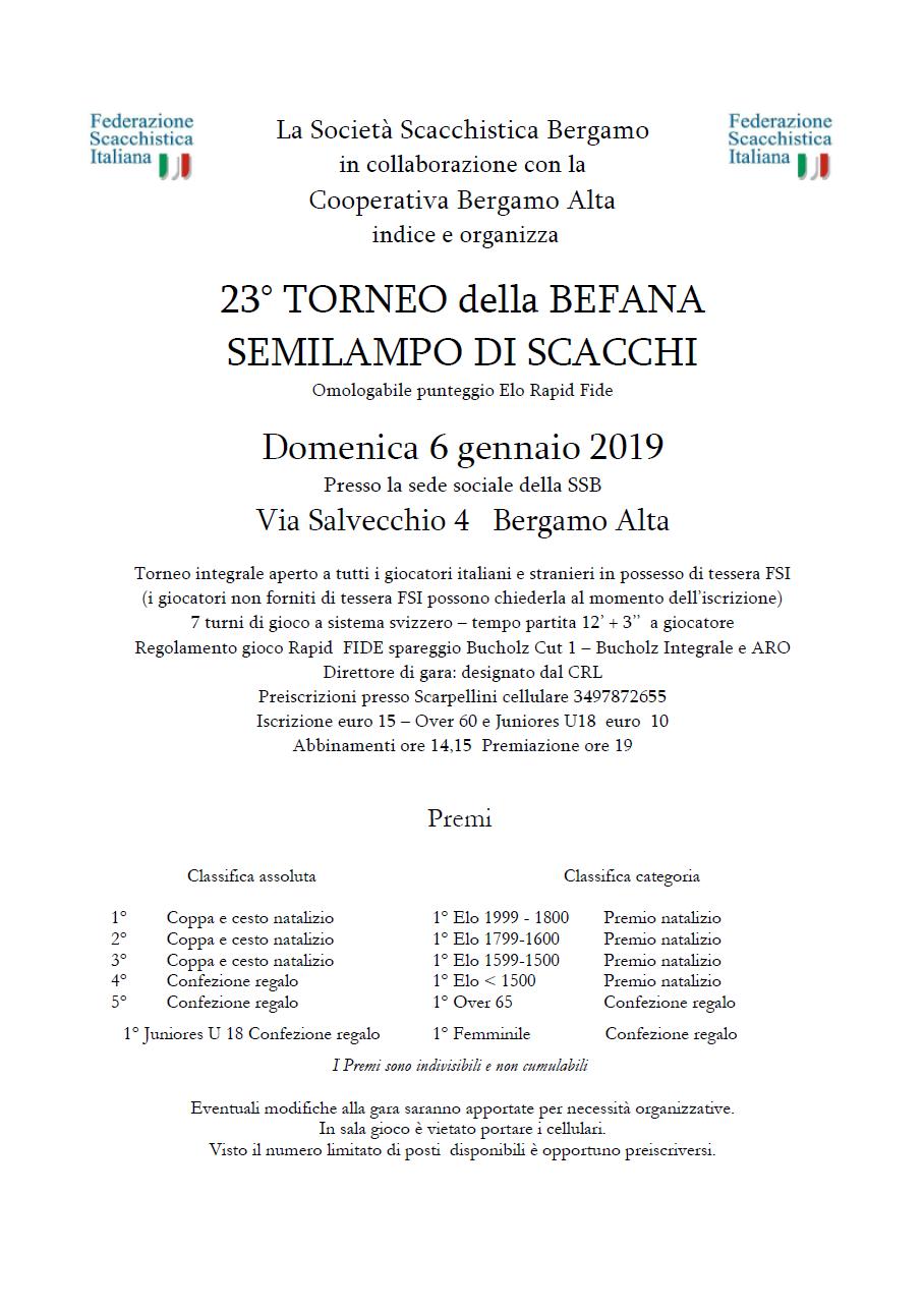 Calendario Tornei Scacchi.Circolo Scacchistico Excelsior